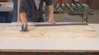 sanding-epoxy-table